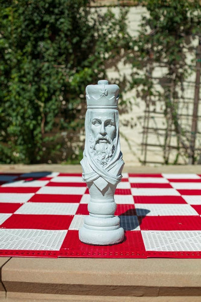 MegaChess 24 Inch Light Fiberglass Medieval King Giant Chess Piece |  | MegaChess.com