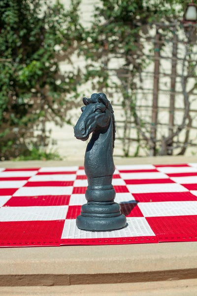 MegaChess 16 Inch Dark Fiberglass Medieval Knight Giant Chess Piece |  | MegaChess.com