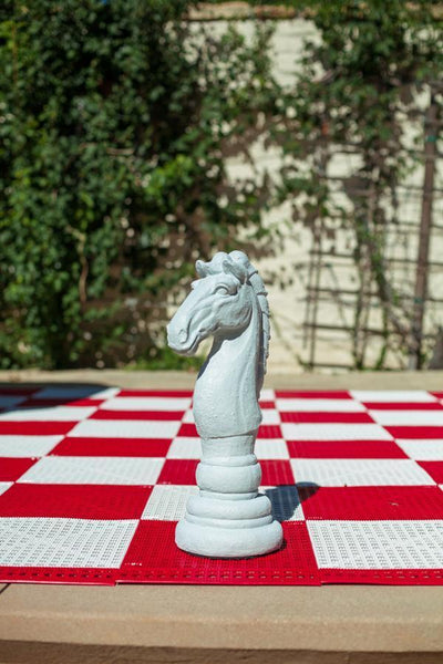 MegaChess 16 Inch Light Fiberglass Medieval Knight Giant Chess Piece |  | MegaChess.com