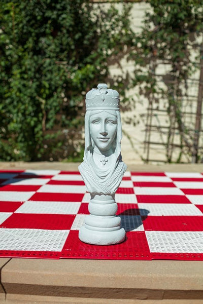 MegaChess 22 Inch Light Fiberglass Medieval Queen Giant Chess Piece |  | MegaChess.com