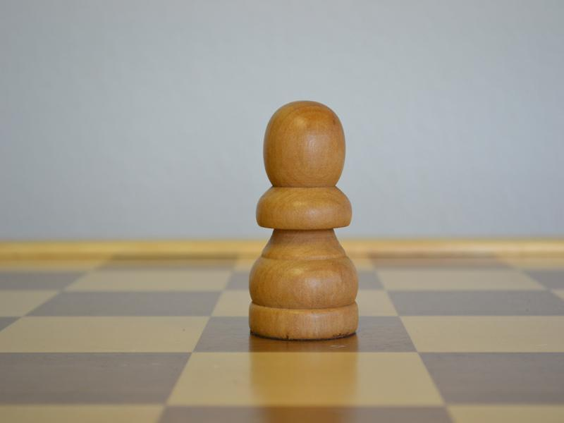 MegaChess 3 Inch Light Rubber Tree Pawn Giant Chess Piece |  | MegaChess.com