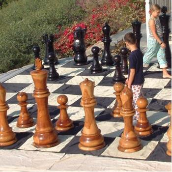 Giant Chess Boards with 24 Inch to 30 Inch Squares