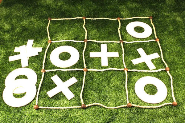 Custom Giant Tic Tac Toe