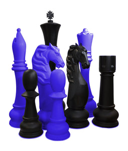 MegaChess Custom 72 Inch Fiberglass Giant Chess Set | Change One Color | MegaChess.com