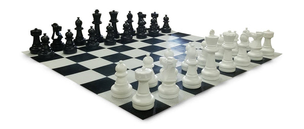 MegaChess 25 Inch Plastic Giant Chess Set with Plastic Board |  | MegaChess.com
