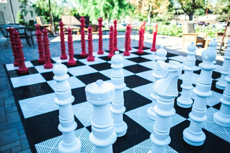 MegaChess Custom 49 Inch Plastic Giant Chess Set |  | MegaChess.com