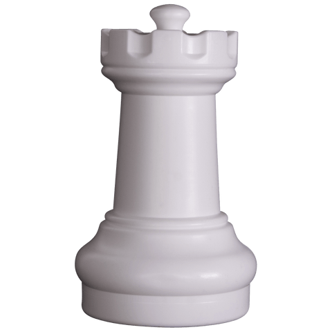 MegaChess 10 Inch Light Plastic Rook Giant Chess Piece |  | MegaChess.com