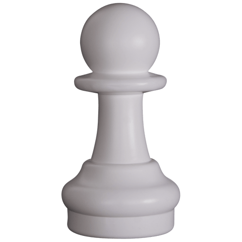 MegaChess 9 Inch Light Plastic Pawn Giant Chess Piece |  | MegaChess.com