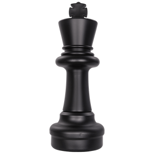 MegaChess 25 Inch Dark Plastic King Giant Chess Piece |  | MegaChess.com