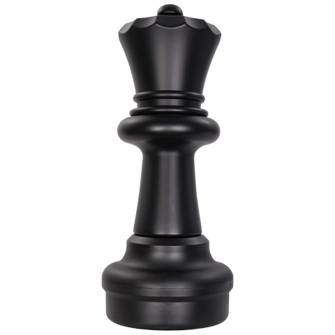 MegaChess 23 Inch Dark Plastic Queen Giant Chess Piece |  | MegaChess.com