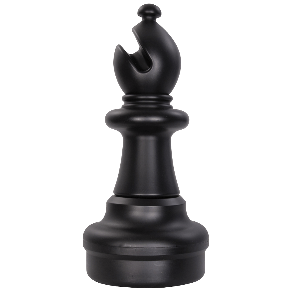 MegaChess 21 Inch Dark Plastic Bishop Giant Chess Piece |  | MegaChess.com