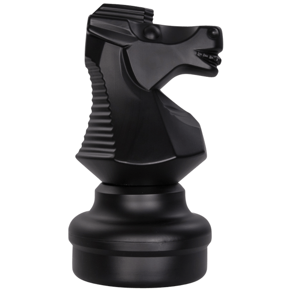 MegaChess 18 Inch Dark Plastic Knight Giant Chess Piece |  | MegaChess.com