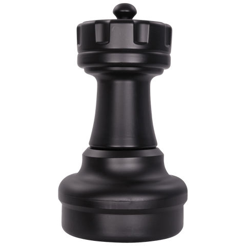 MegaChess 17 Inch Dark Plastic Rook Giant Chess Piece |  | MegaChess.com