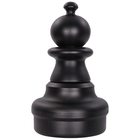 MegaChess 16 Inch Dark Plastic Pawn Giant Chess Piece |  | MegaChess.com