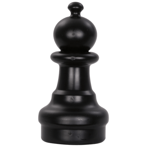 MegaChess 8 Inch Dark Plastic Pawn Giant Chess Piece |  | MegaChess.com
