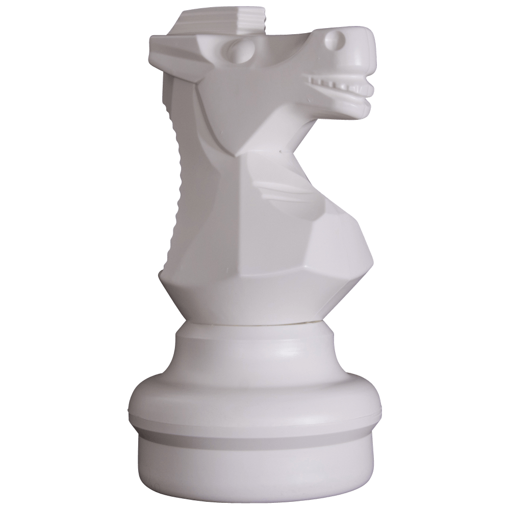 MegaChess 18 Inch Light Plastic Knight Giant Chess Piece |  | MegaChess.com