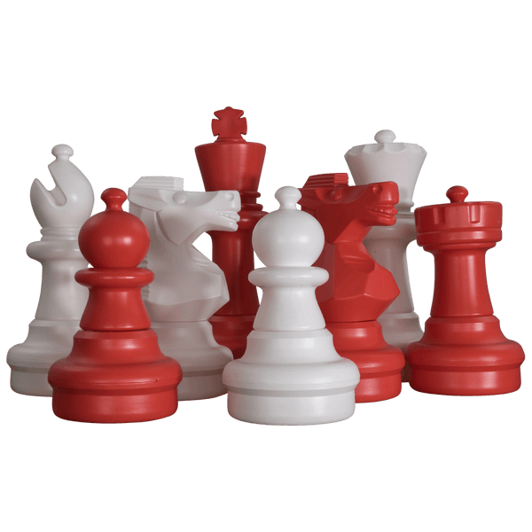 MegaChess 25 Inch Plastic Giant Chess Set
