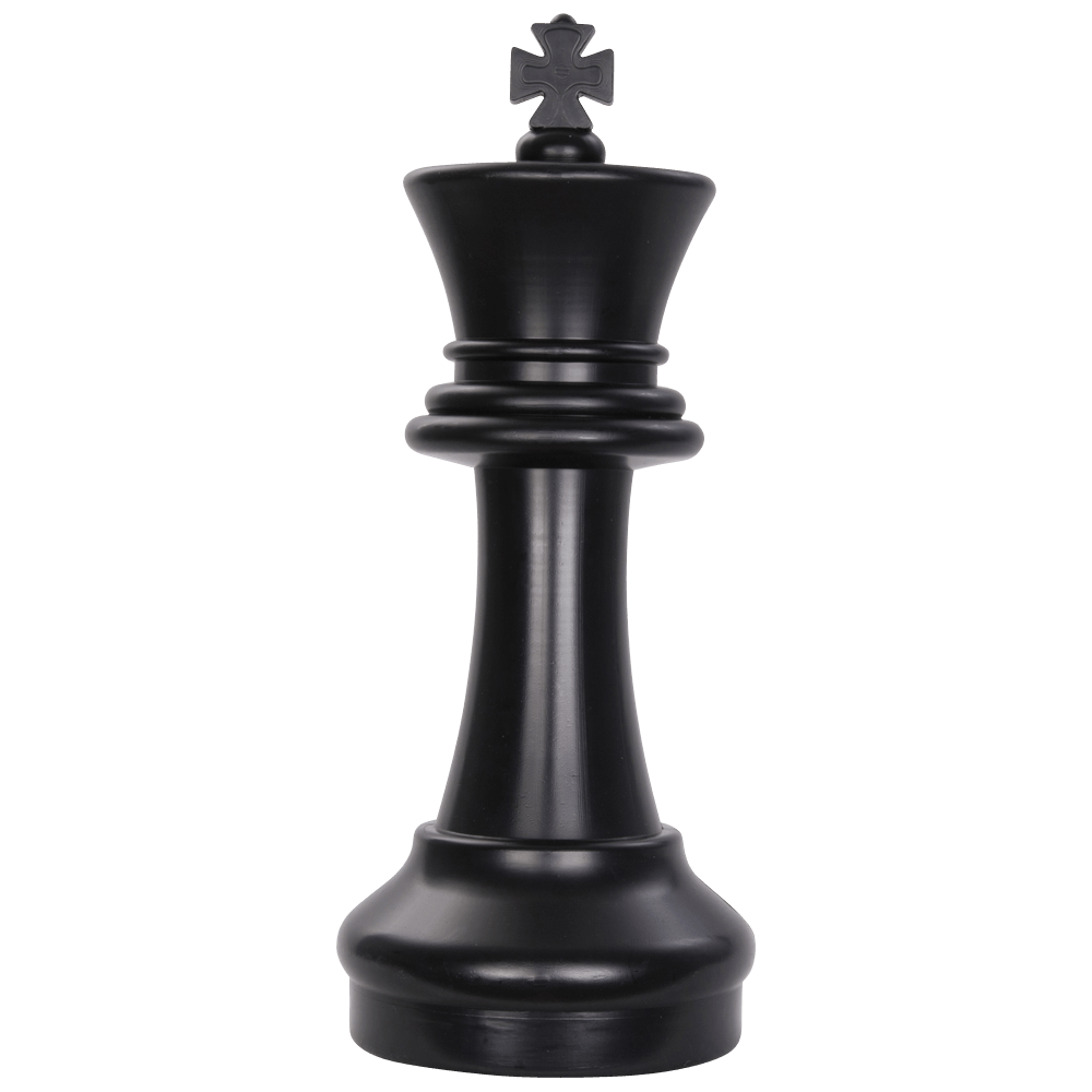 MegaChess 16 Inch Dark Plastic King Giant Chess Piece |  | MegaChess.com