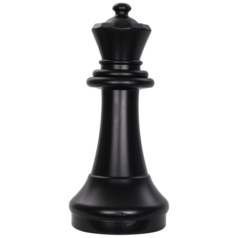 MegaChess 15 Inch Dark Plastic Queen Giant Chess Piece |  | MegaChess.com