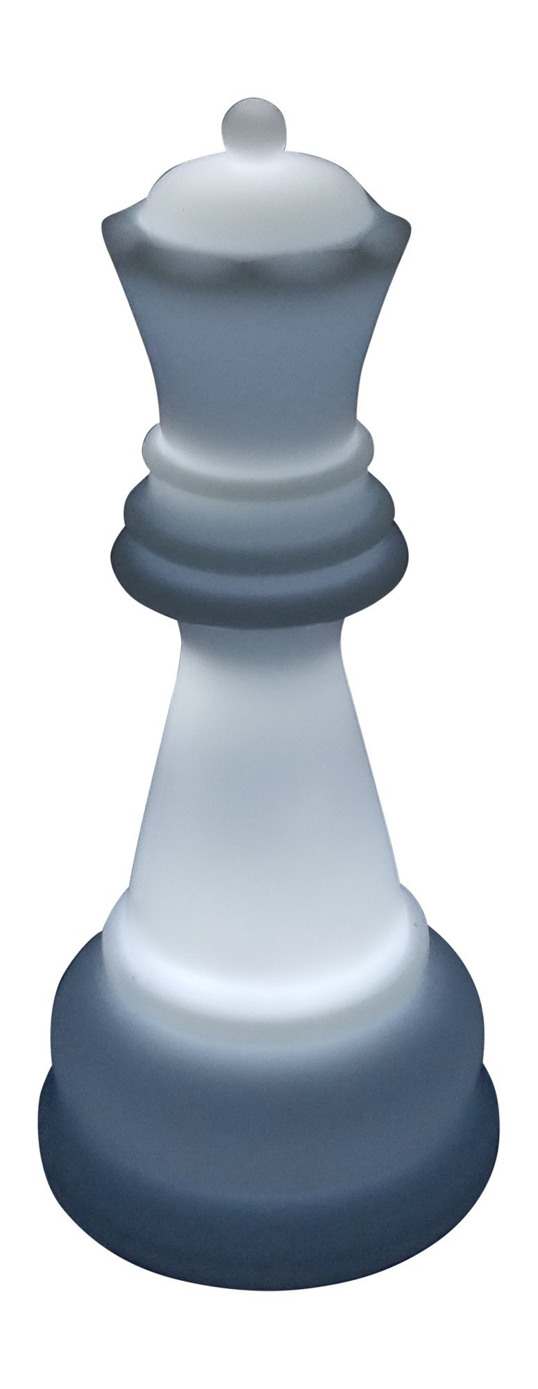 MegaChess 22 Inch Perfect Queen Light-Up Giant Chess Piece - White |  | MegaChess.com