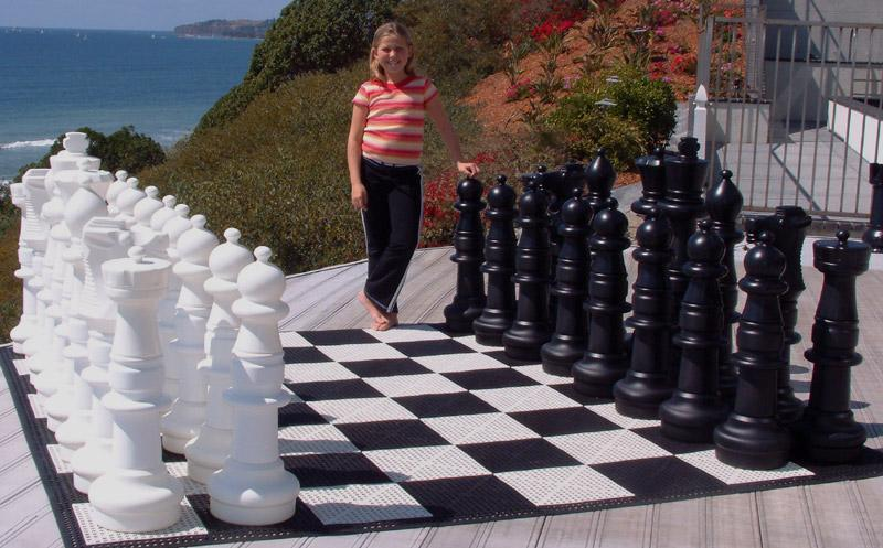 MegaChess 37 Inch Plastic Giant Chess Set | The Original Giant Chess Set | No Parts Replacement Plan | MegaChess.com