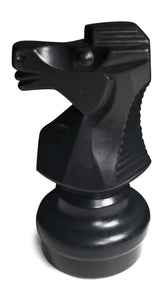 MegaChess Individual Chess Piece - Knight - 8.5 Inches Tall - Black |  | MegaChess.com