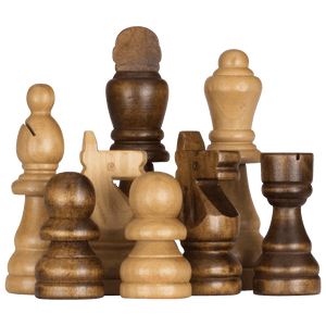 MegaChess 7 Inch Rubber Tree Giant Chess Set | Default Title | MegaChess.com
