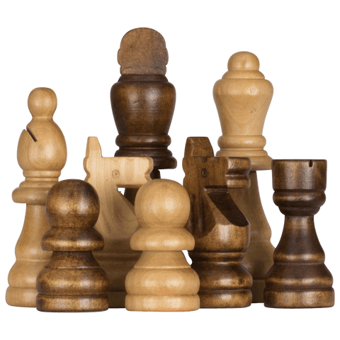 MegaChess 7 Inch Rubber Tree Giant Chess Set