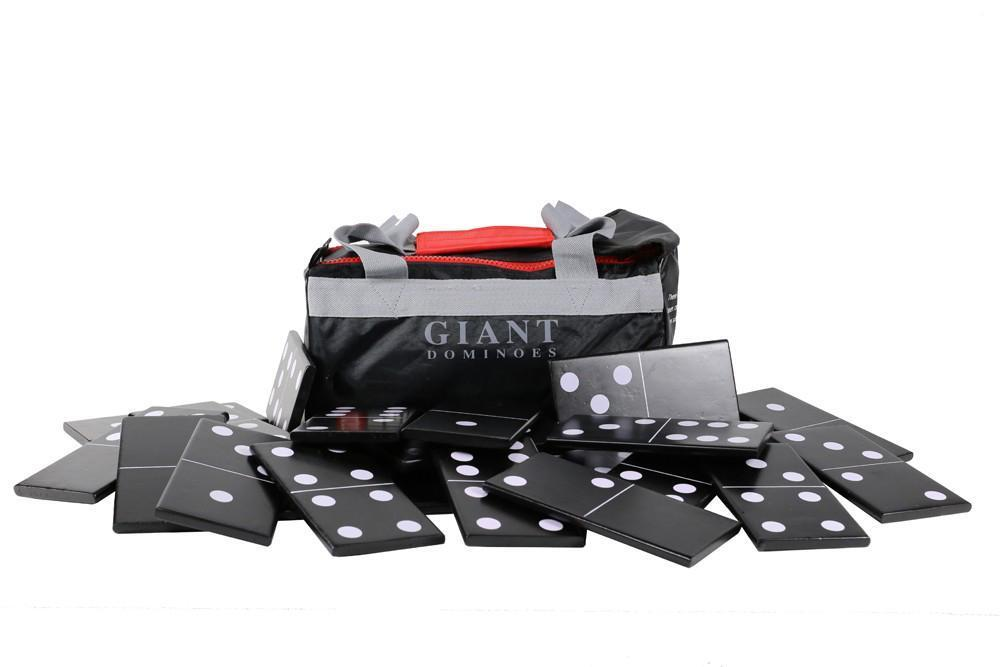 Giant Dominoes - Natural Wood |  | MegaChess.com