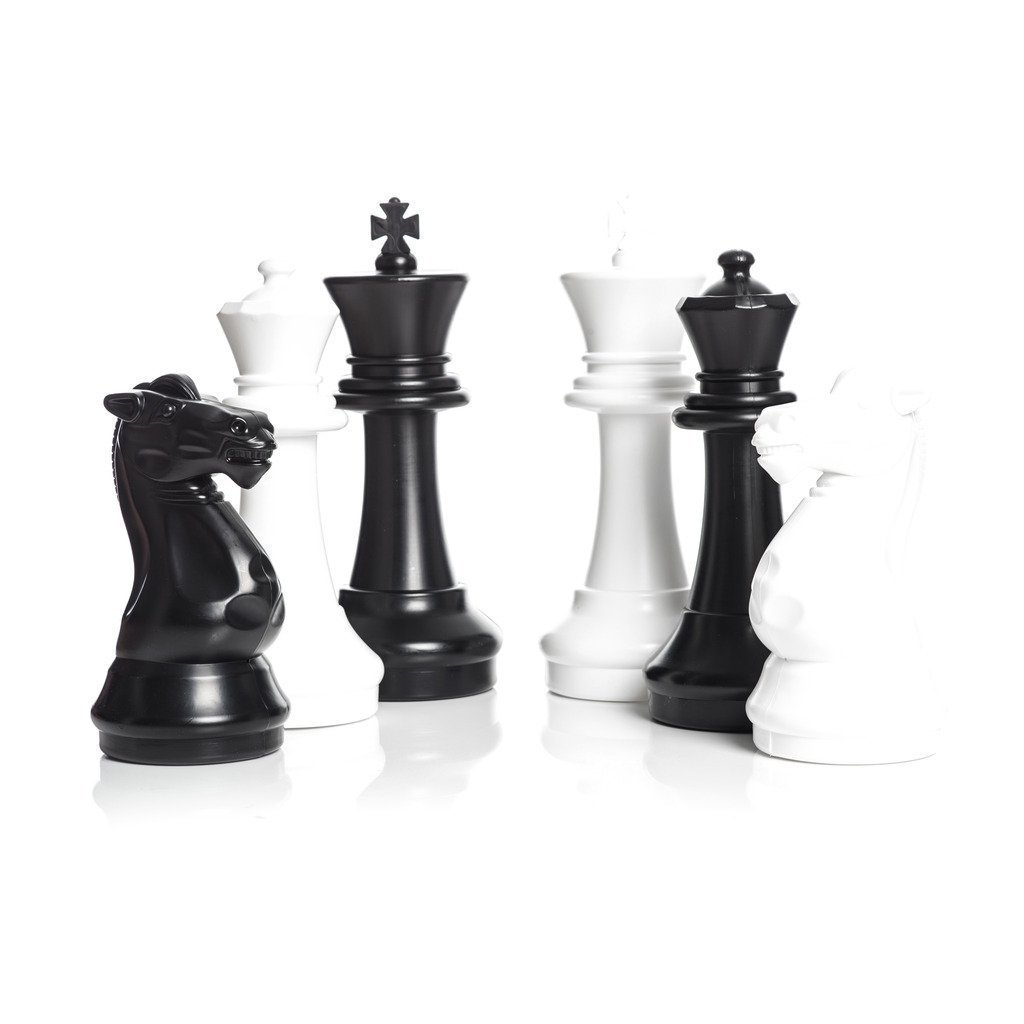 MegaChess 16 Inch Plastic Giant Chess Set with Nylon Mat | Default Title | MegaChess.com
