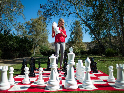 Giant Fiberglass Chess Sets - 24 inches to 72 Inches
