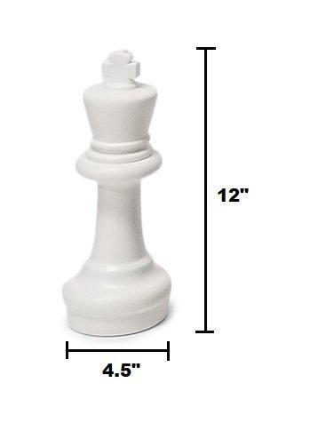 MegaChess 12 Inch Plastic Giant Chess Set with Plastic Board |  | MegaChess.com
