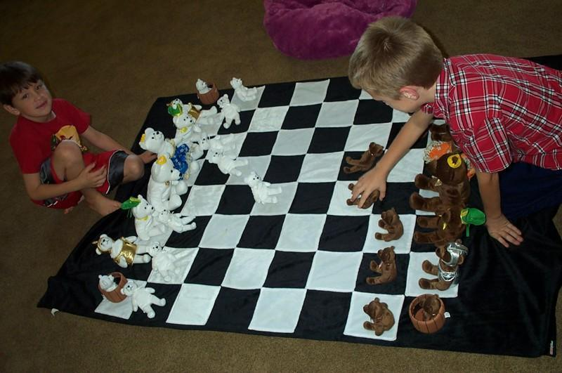 MegaChess 12 Inch Teddy Bear Giant Chess Set