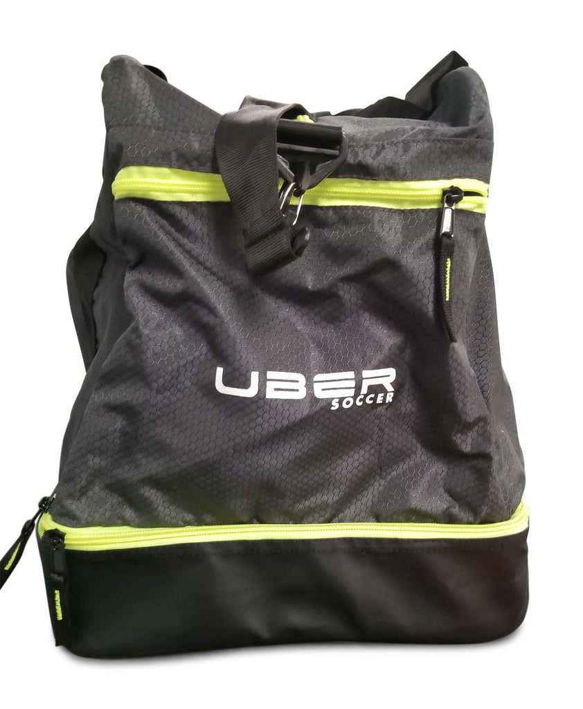 Uber Soccer Player Hold All  - Green and Black