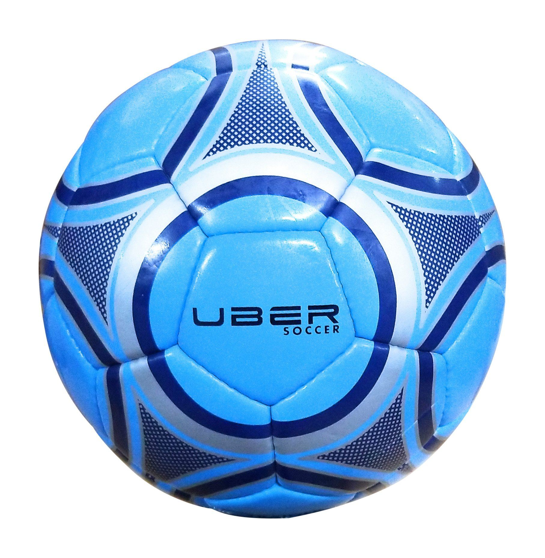 Uber Soccer Blue Steel Trainer Ball