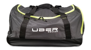 Uber Soccer Players Bag with Trolley - Black and Green