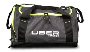 Uber Soccer Players Bag - Small - Black and Green - UberSoccer