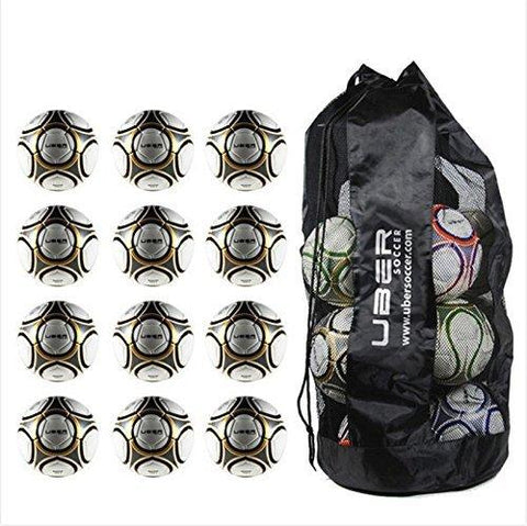 Uber Soccer Match Soccer Ball Bundle - Set of 12 - Size 5 - UberSoccer