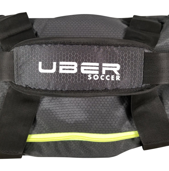Uber Soccer Team Kit Bag - Large - Green and Black