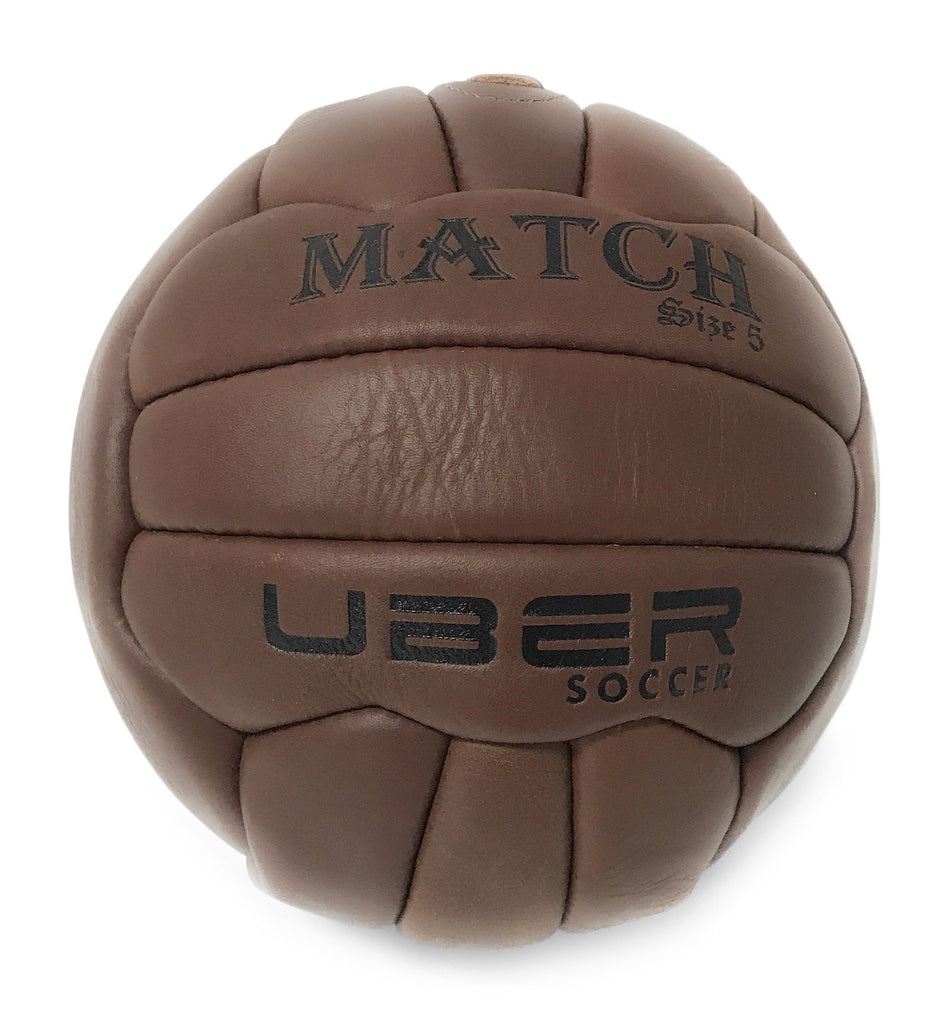 Uber Soccer Vintage Match Soccer Ball - Players Replica - Size 5