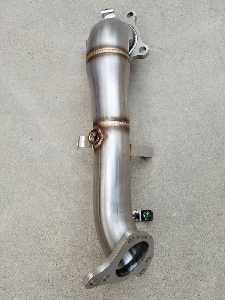 "18-20 HONDA ACCORD 2.0L TURBO RACE PERFORMANCE DOWN PIPE(2.5"") EXHAUST"