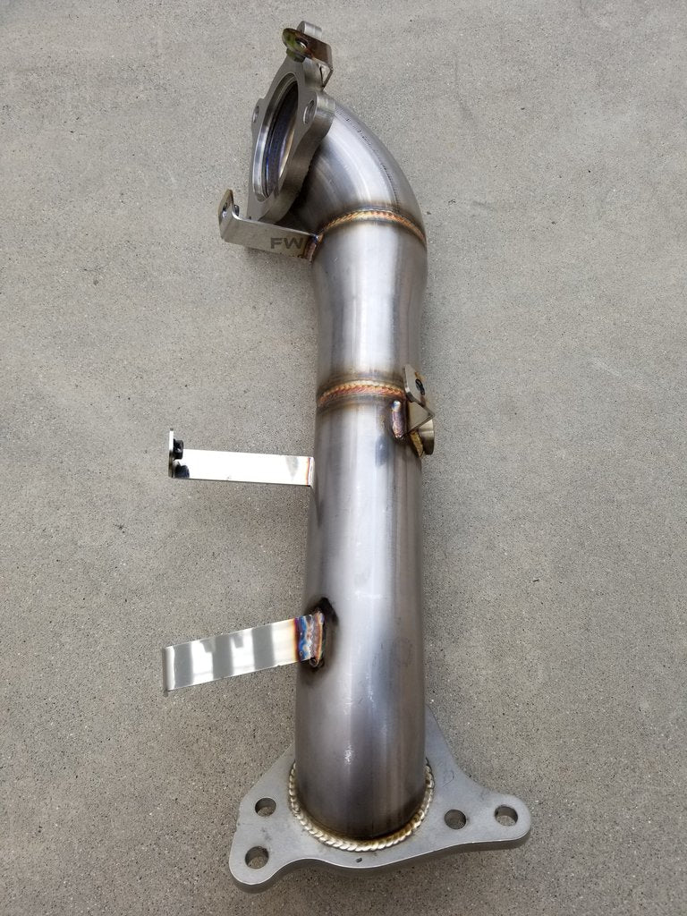 "16-20 HONDA CIVIC 1.5L TURBO RACE PERFORMANCE DOWN PIPE (2.5"") EXHAUST"
