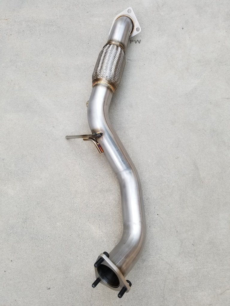 "16-20 HONDA CIVIC 1.5L TURBO RACE PERFORMANCE FRONT PIPE (2.5"") EXHAUST"