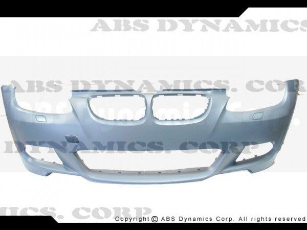 2007-2010 BMW E92 M-Tech Style Front Bumper  w/ Foglight and Grill (PP)