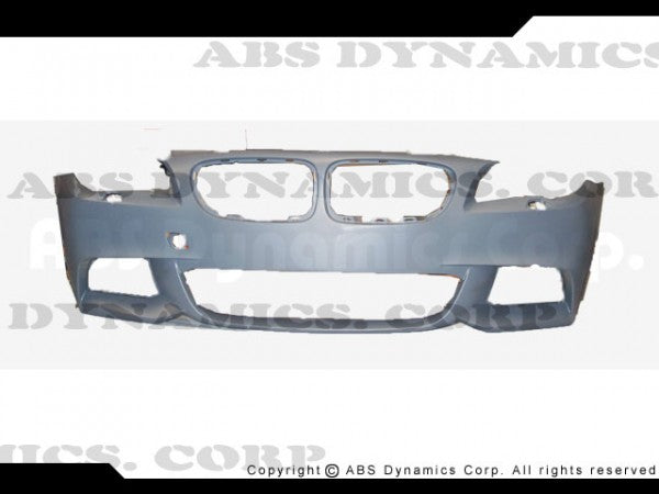 2012-2013 BMW 5 SERIES F10 M-TECH FRONT BUMPER COVER W/ FOGLIGHT (NO PDC) W/PP