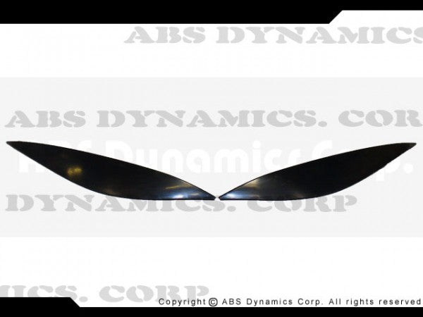 MERCEDES C-CLASS EYEBROWS IN ABS PLASTIC