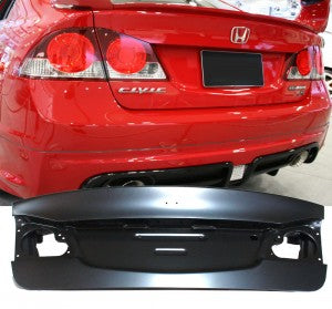06-11 Honda Civic 4D JDM Rear Trunk Lid (Metal)