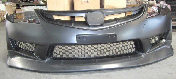 06-11 HONDA CIVIC 4DR JDM MUGEN FRONT LIP (ONLY FOR TYPE-R BUMPER)