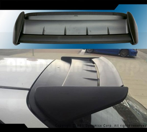 96-00 HONDA CIVIC 3DR SEEKER II REAR TRUNK HATCH SPOILER PLASTIC