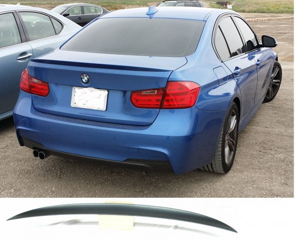 2012-2015 BMW F30 3-SERIES SEDAN M PERFORMANCE TRUNK LID SPOILER (PP)